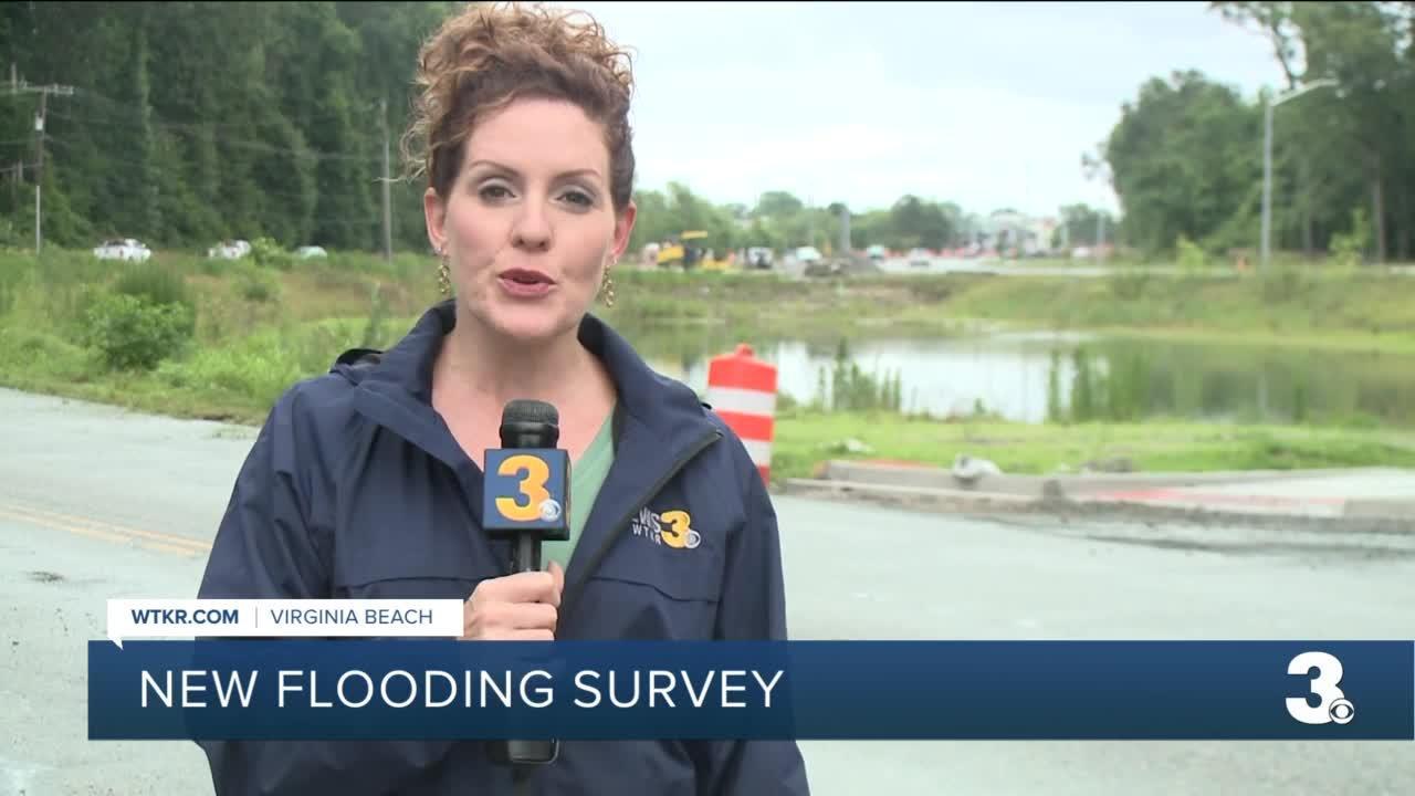 Virginia Beach seeking input on flooding survey