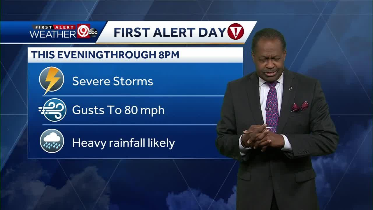 Severe storms bring damaging winds, heavy rain to Kansas City area Friday
