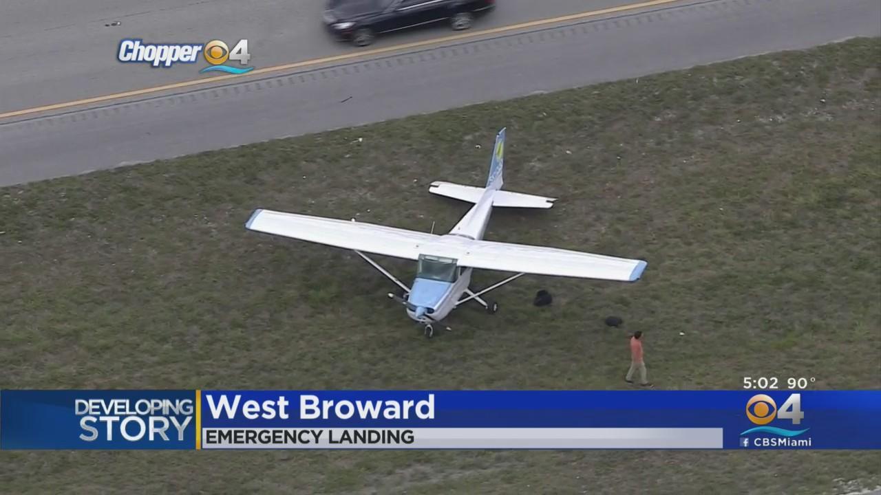 Small Plane Made Emergency Landing On I-75 Near Weston