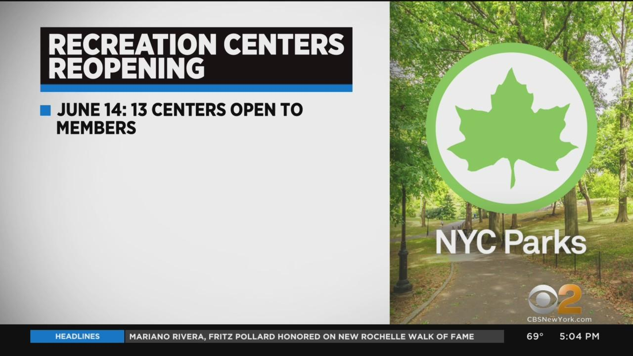 City Parks Recreational Centers & Senior Centers Set To Reopen