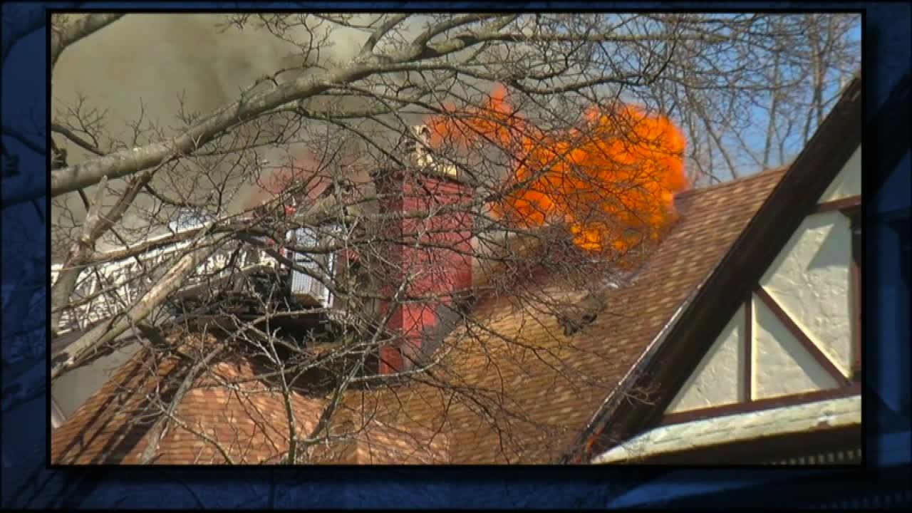 Couple trying to rebuild home after fire says it keeps getting broken into