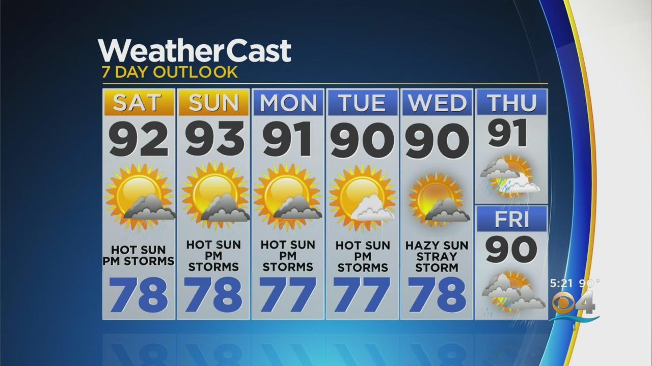 CBSMiami.com Weather @ Your Desk 6-11-21 5PM