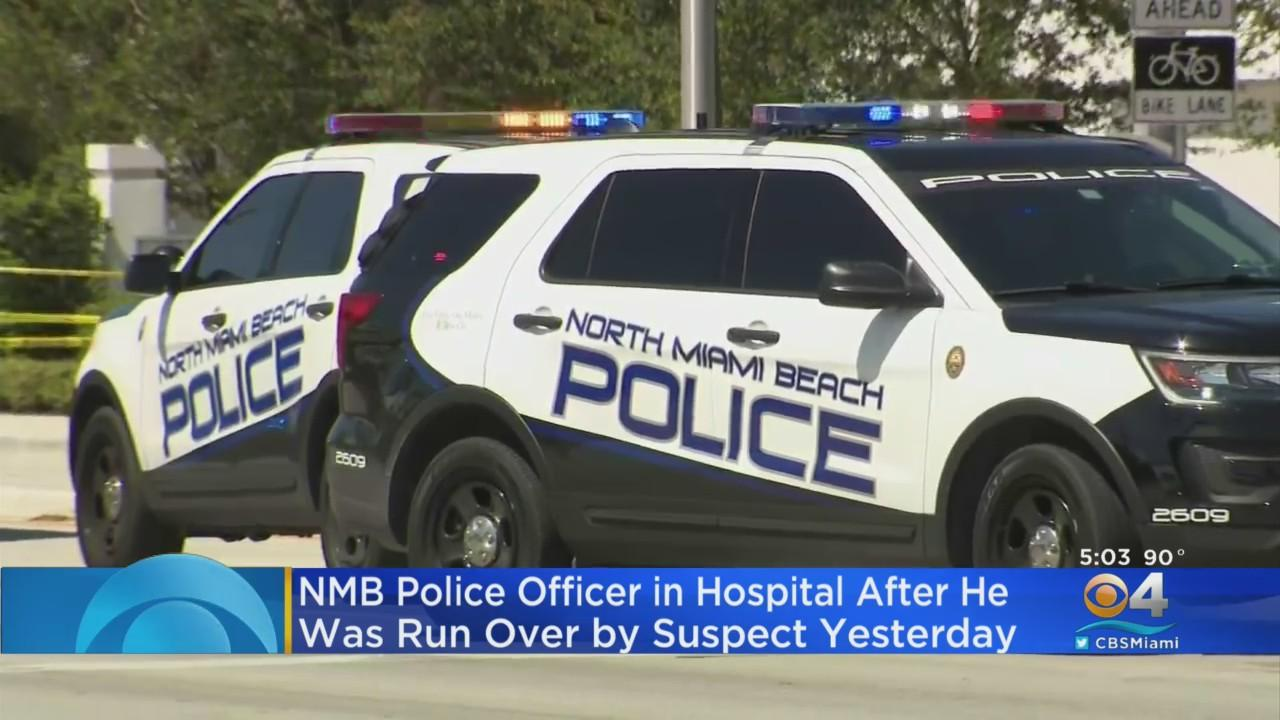 North Miami Beach Police: Woman Who Hit Officer With Car Will Be Charged With Attempted Murder