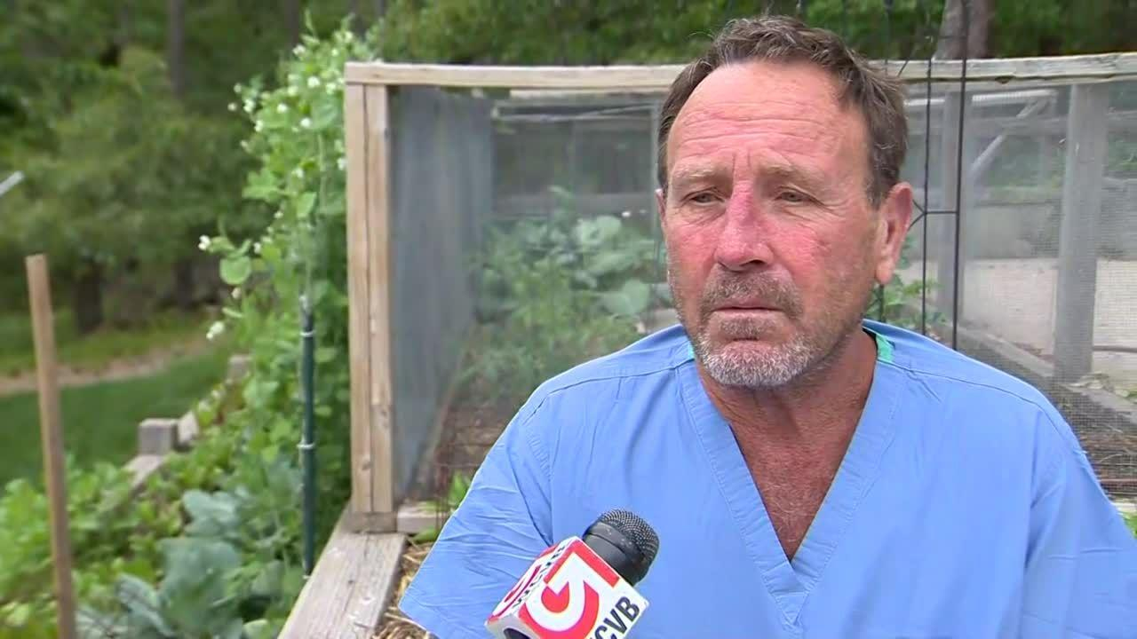 Sound up! Cape Cod lobster diver describes being swallowed by whale