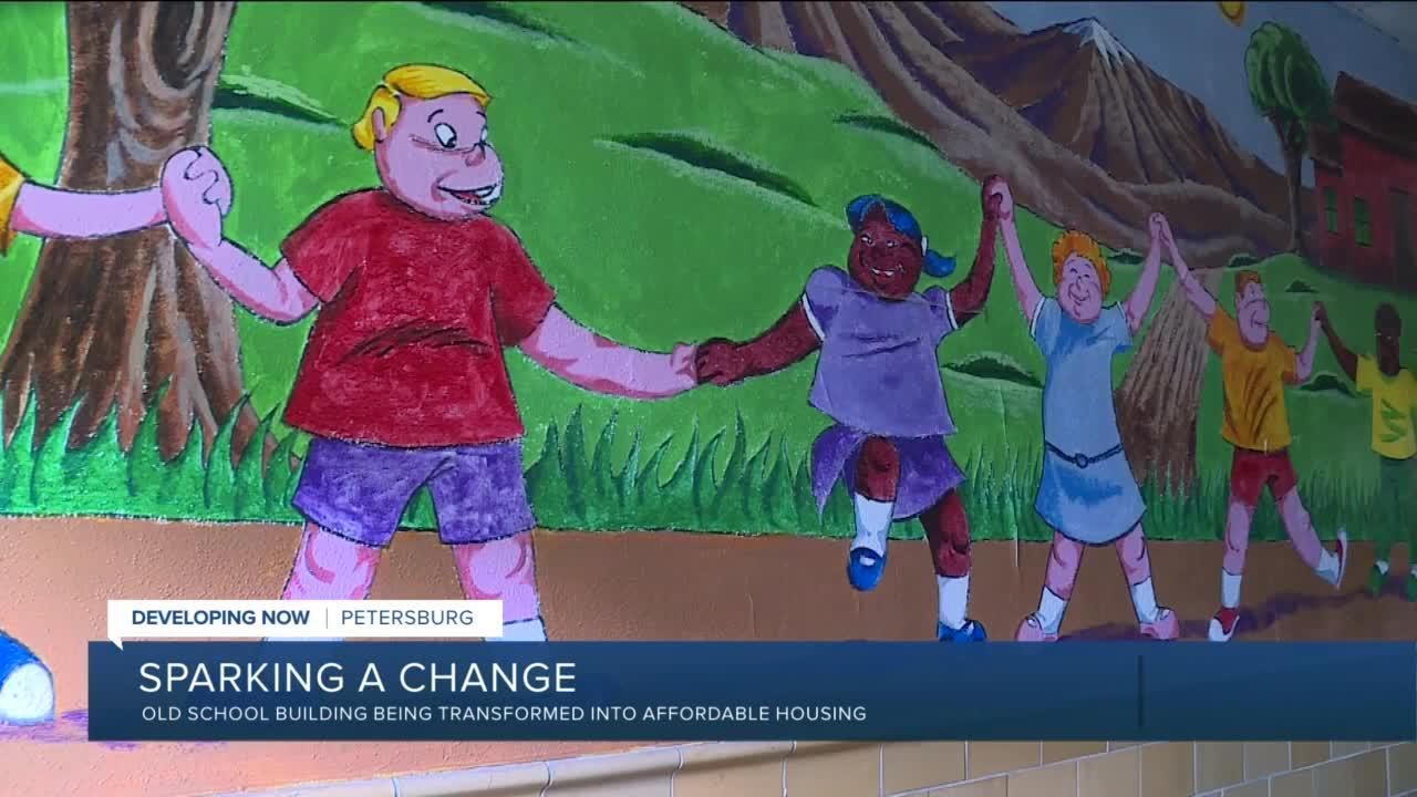How an abandoned school could spark a rebirth in Petersburg