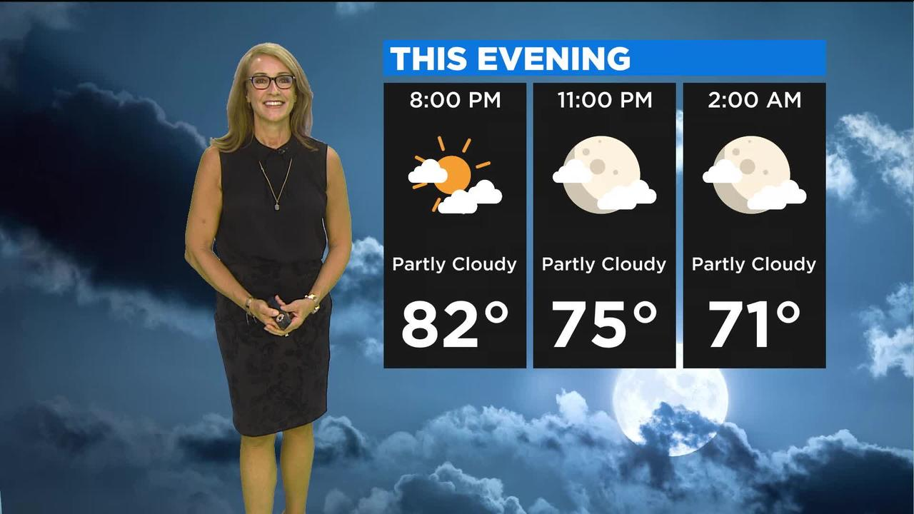 First Forecast Weather June 11, 2021 (Tonight)