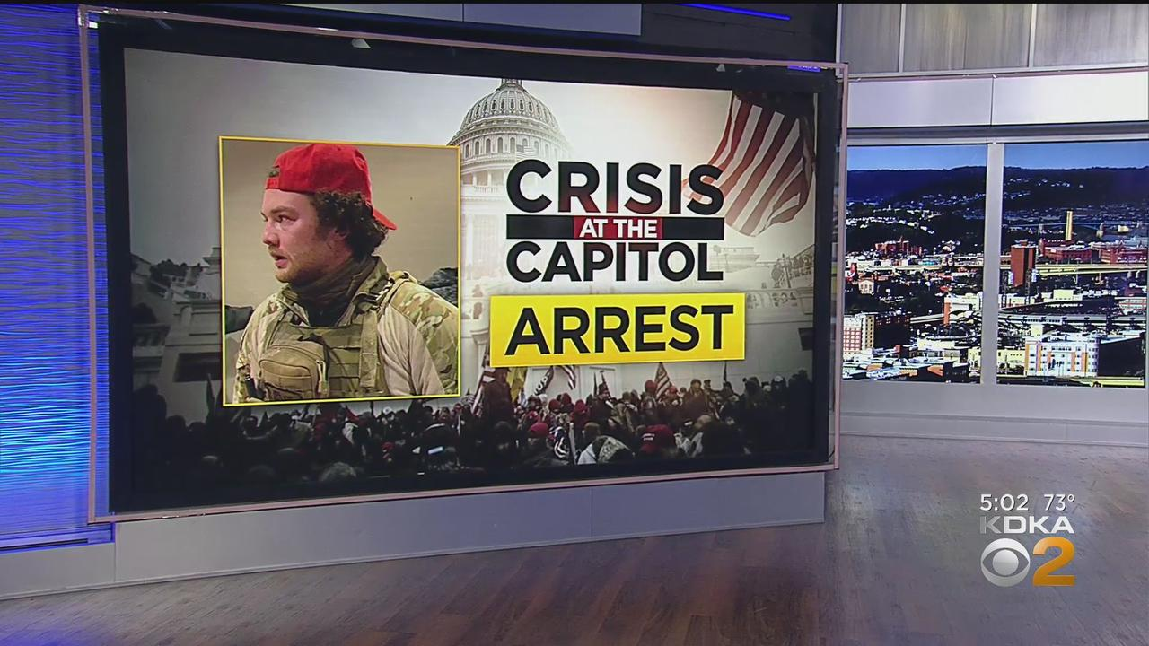 Local Teacher Arrested For Alleged Criminal Acts At U.S. Capitol