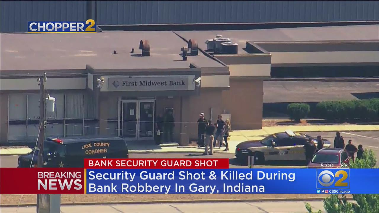 Security Guard Killed In Gary, Indiana Bank Robbery