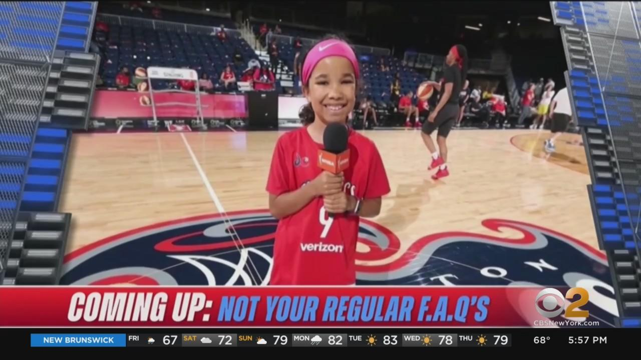 10-Year-Old New York Girl Broadcasts NBA Playoff Game On TV