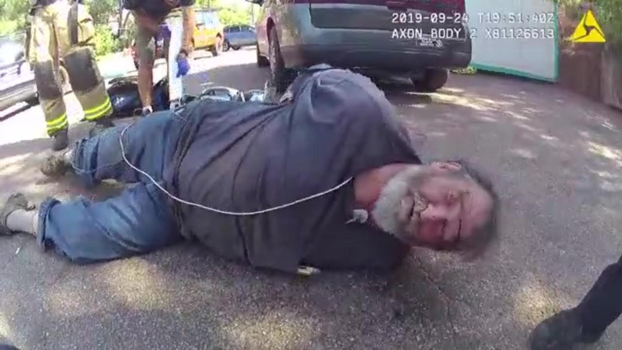 Colorado man who didn't give officers driver license asks why he was sedated with ketamine