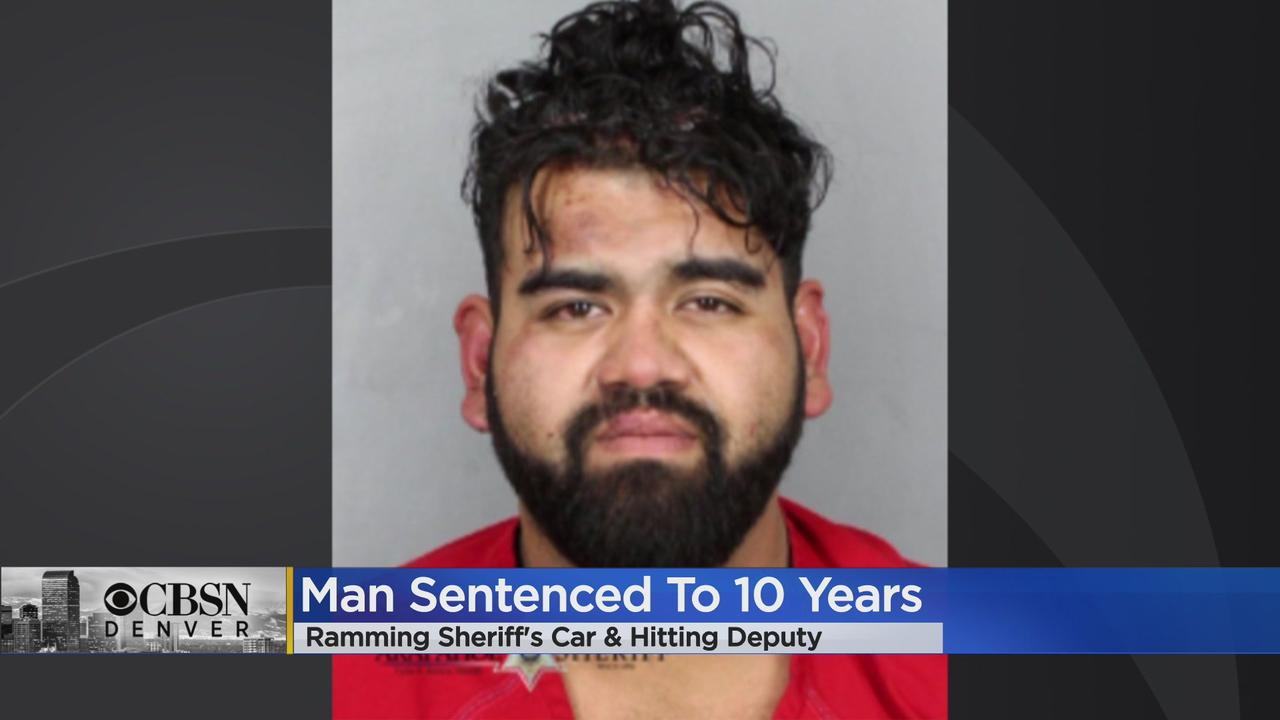 Diego Castorena Sentenced To 10 Years In Prison After Ramming Arapahoe County Sheriff's Vehicle, Striking Deputy