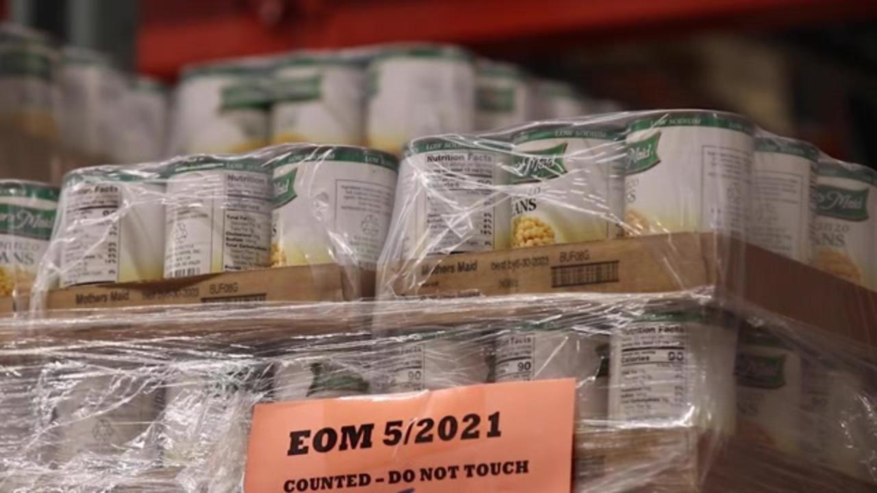 Increased demand, costs lead food bank to spend 500% more on goods