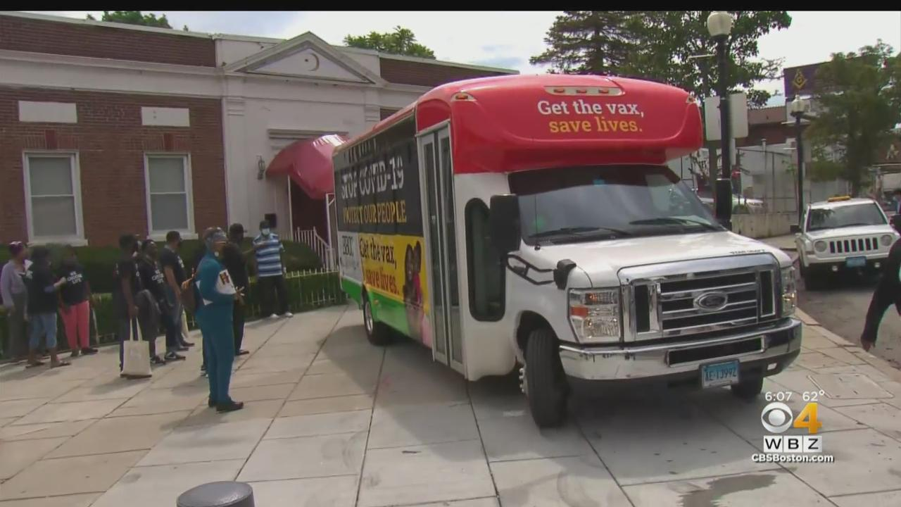 'A Long Way From Being Over': Volunteers Encourage Boston Residents To Get COVID Vaccine