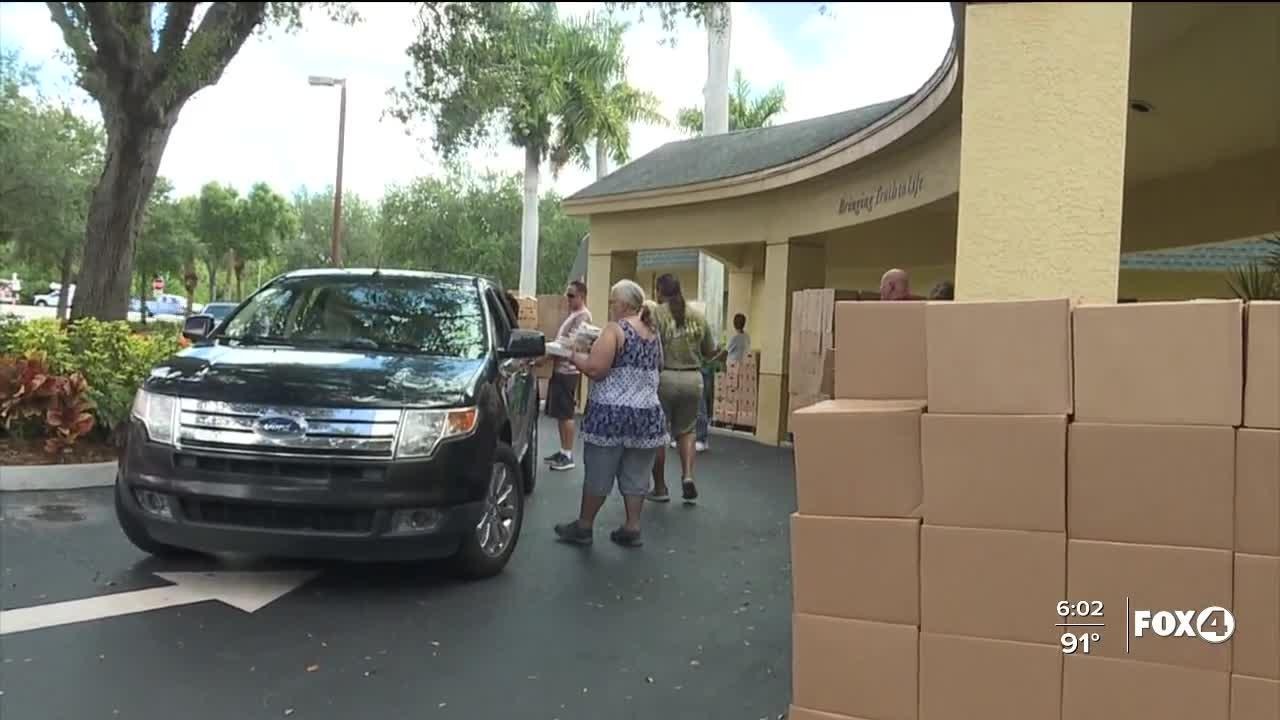 Food bank seeing increase in families in-need