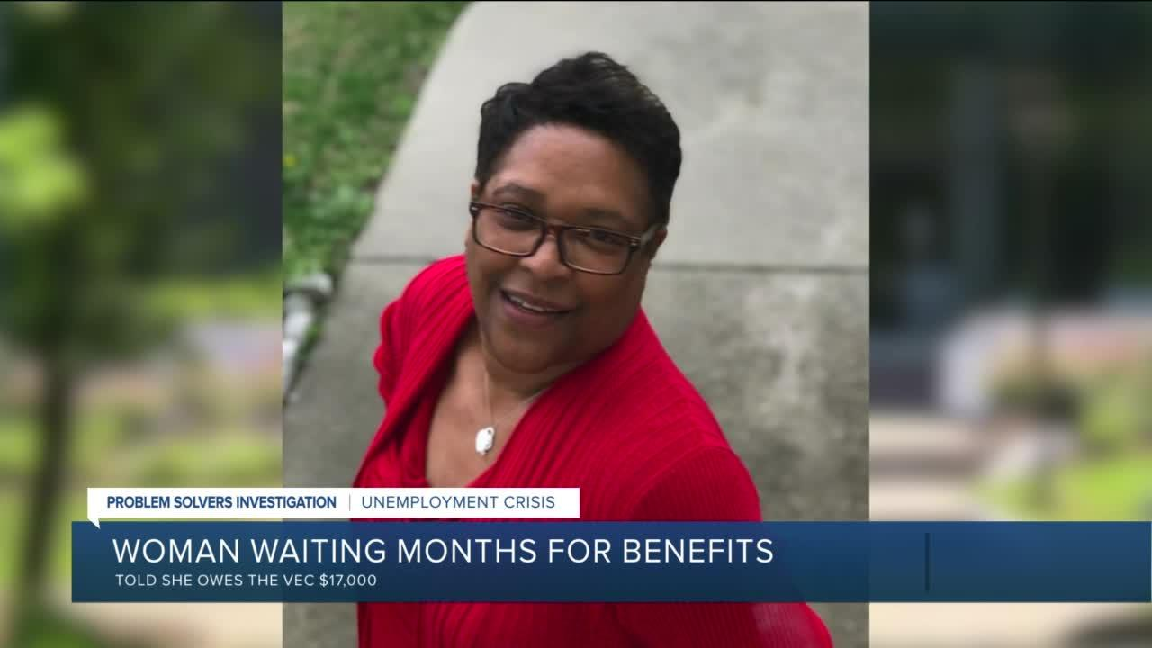 After getting benefits from VEC, Chesterfield woman told she owes double what she received