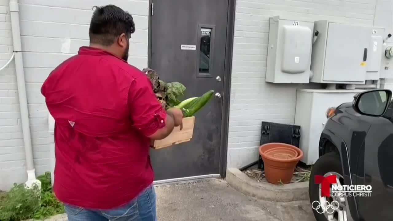 Dagon Produce vende canastas con productos para residentes