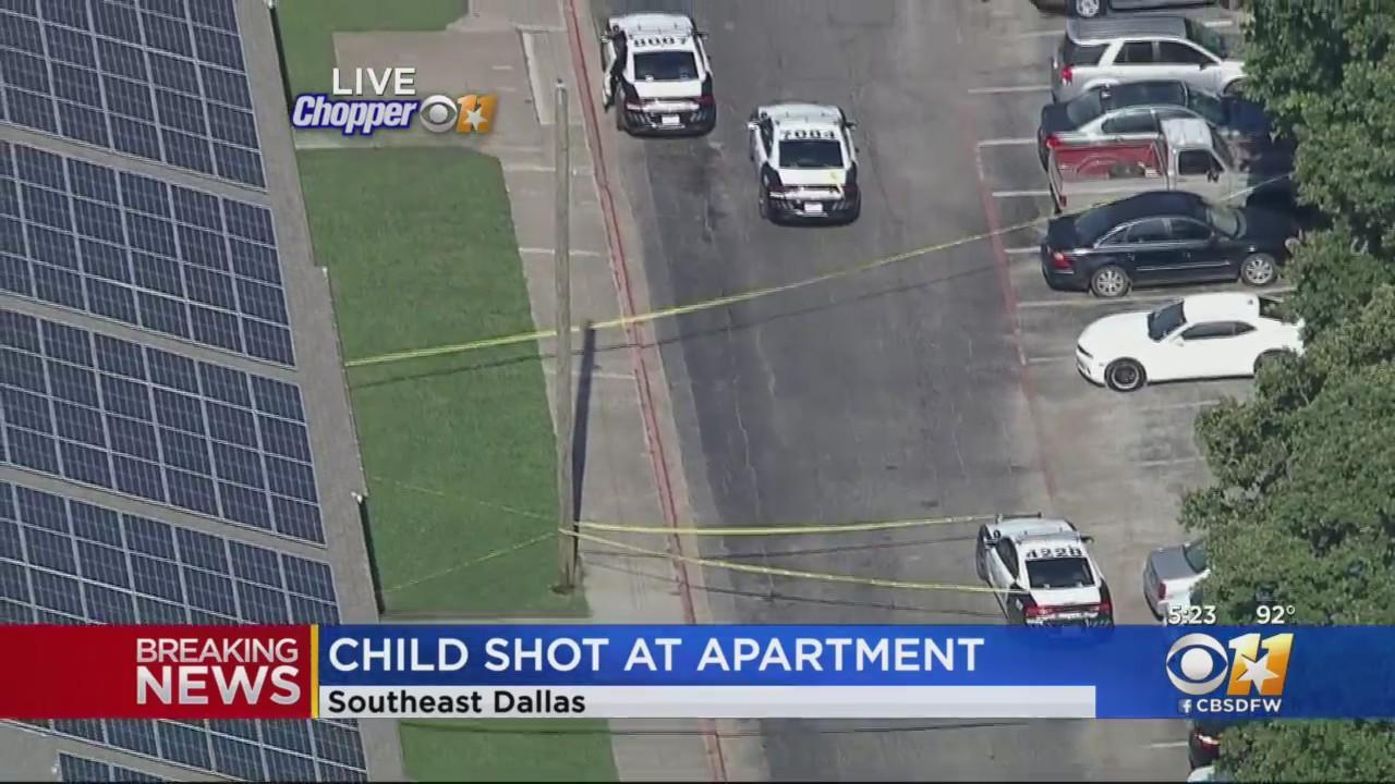 4-Year-Old Shot At Dallas Apartment, Police Say