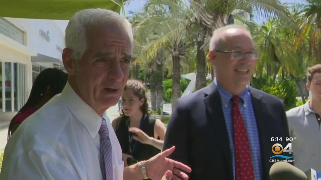 Congressman Charlie Crist Makes South Florida Stop