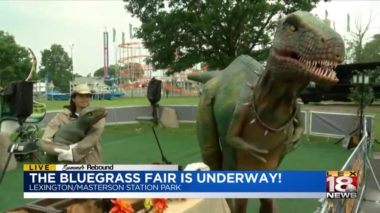 The Bluegrass Fair underway after year off in 2020!