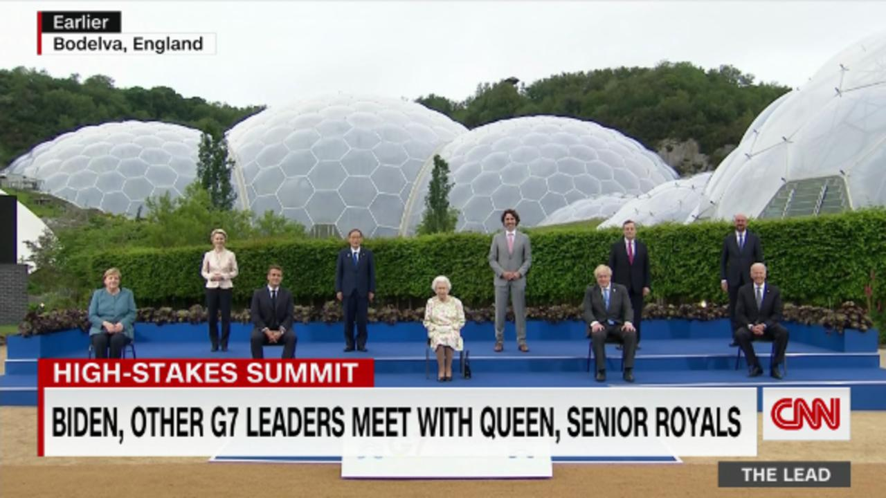Biden likens G7 to a wartime gathering as the world tries to recover from the coronavirus pandemic