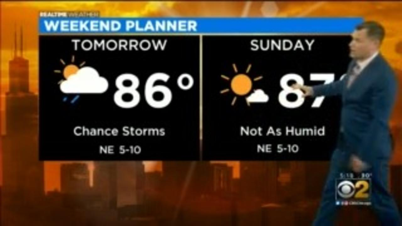 Chicago Weather: Chance Of Rain On Saturday