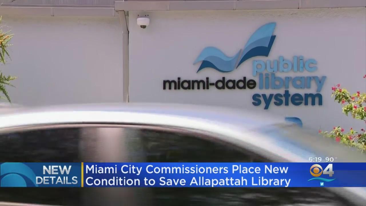 Allapattah Library No Longer In Danger Of Closing