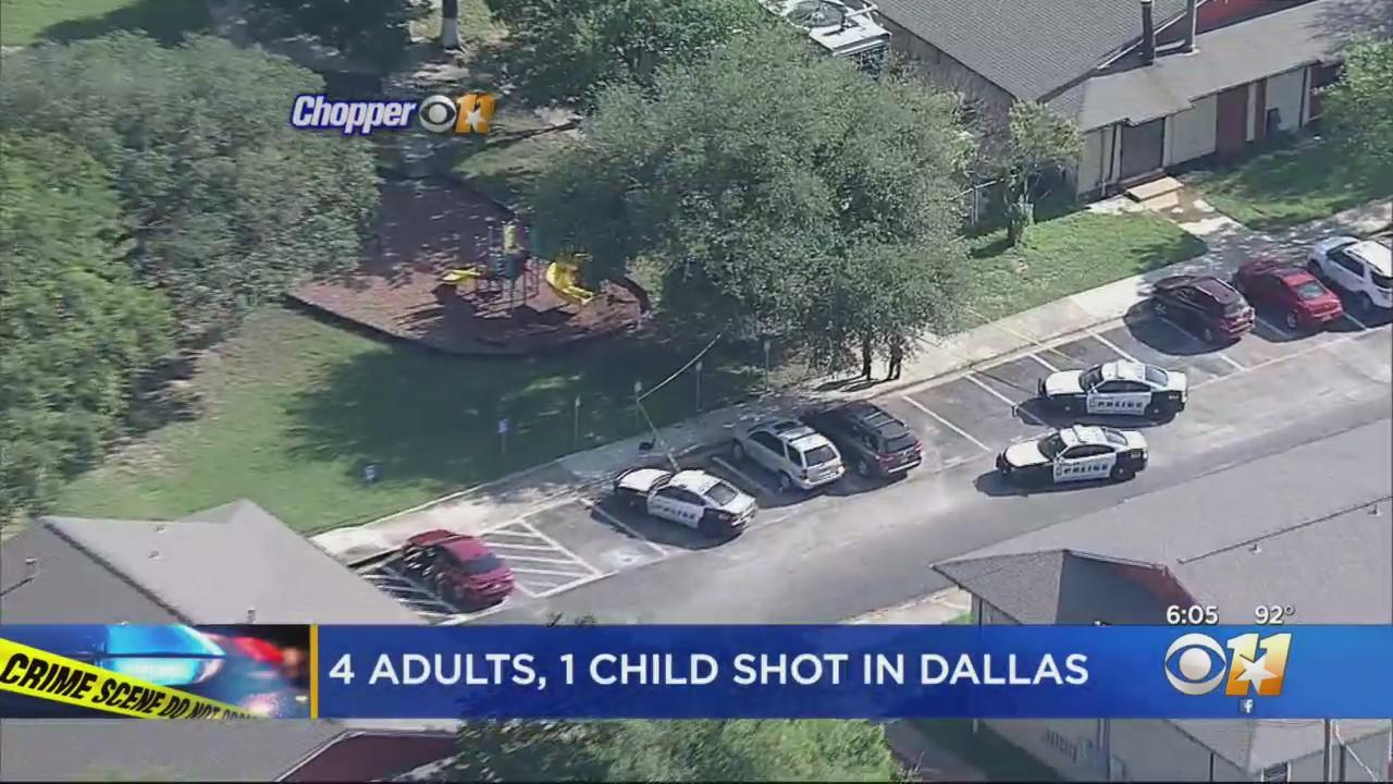 5 People, Including 4-Year-Old, Shot Outside Dallas Apartment, Police Say