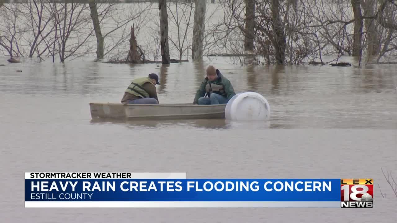Heavy rain, flash flood warning cause anxiety in flood-ridden areas