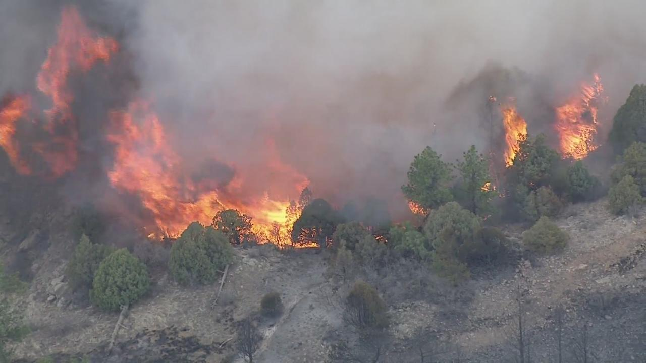 'Whole Area Was On Fire': Evacuated Residents Watch As Firefighters Battle Platte River Fire
