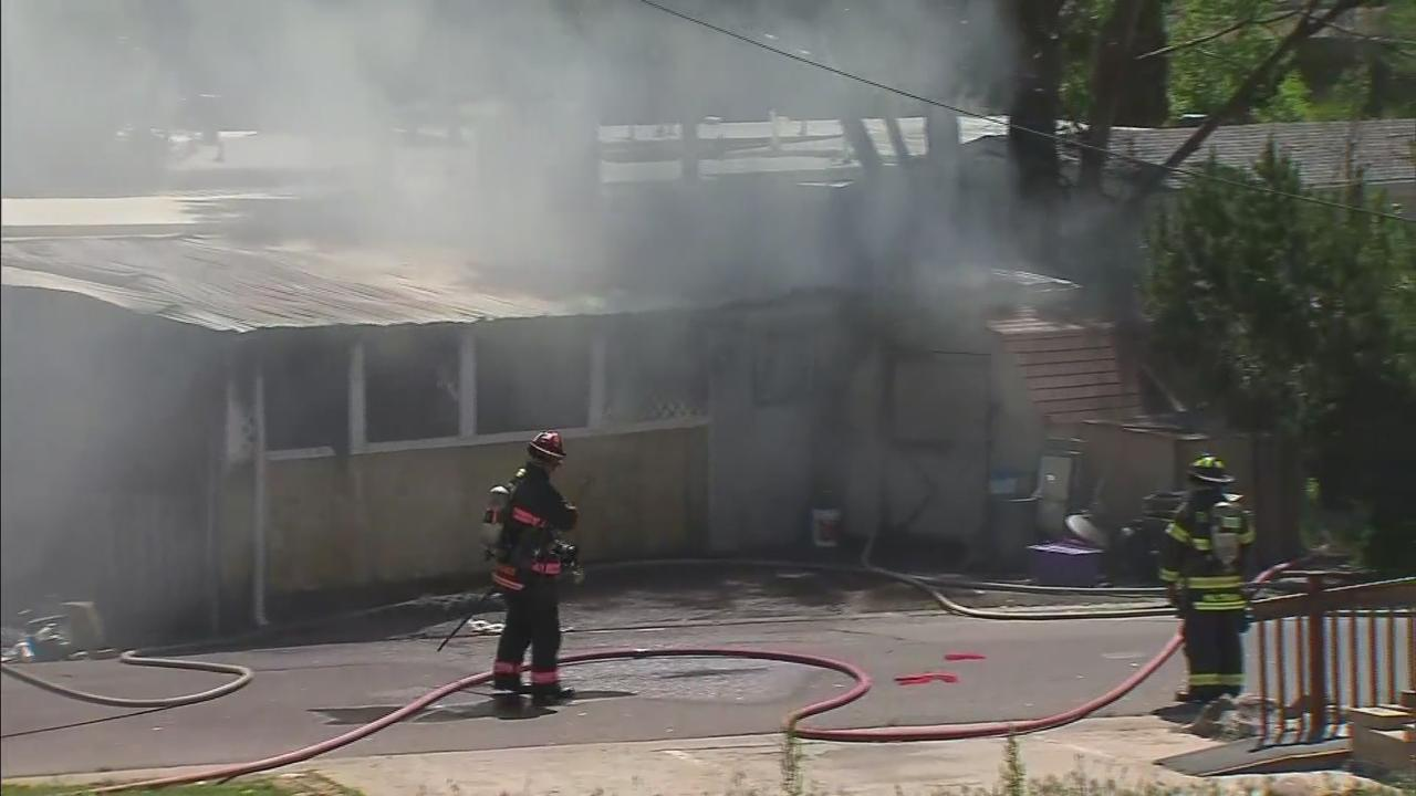 One Dead After Mobile Home Fire In Jefferson County; Deputy And 2 Firefighters Treated For Injuries