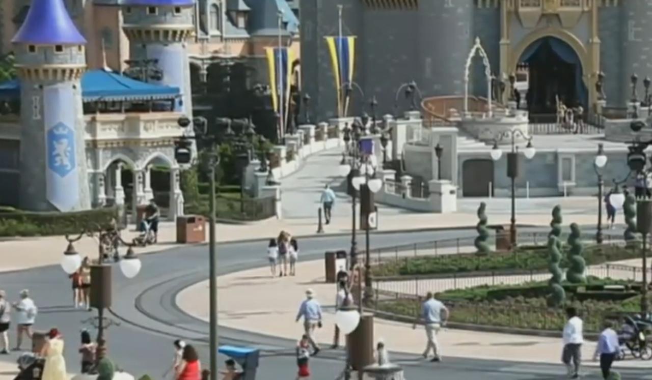 Face coverings optional at Walt Disney World Resort starting June 15