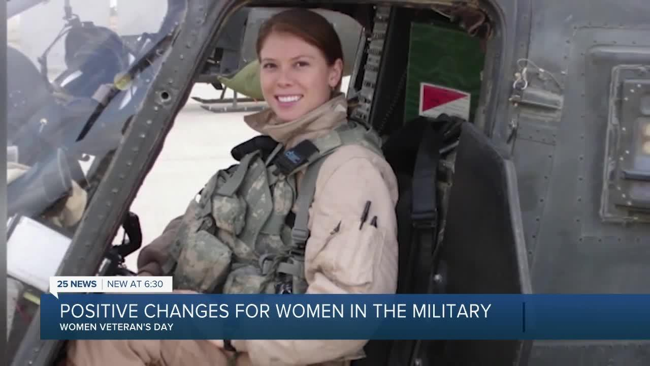 Positive changes for women in the military