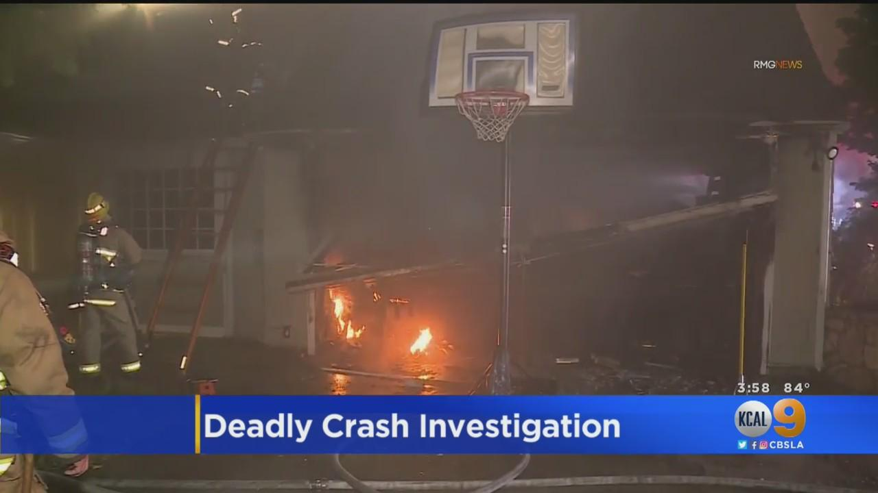 Driver Killed After Careening Into Hancock Park Home, Sparking Fire; Street Racing May Be To Blame