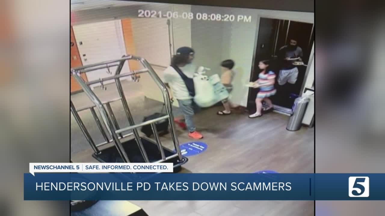 Hendersonville Police take down scammers