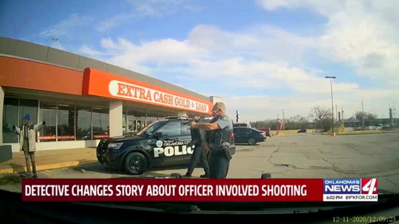 Oklahoma police detective recants sworn statement criticizing officer who shot, killed Black man