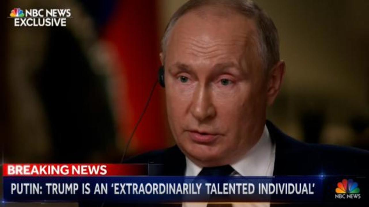 Hear how Putin compared Donald Trump to Joe Biden