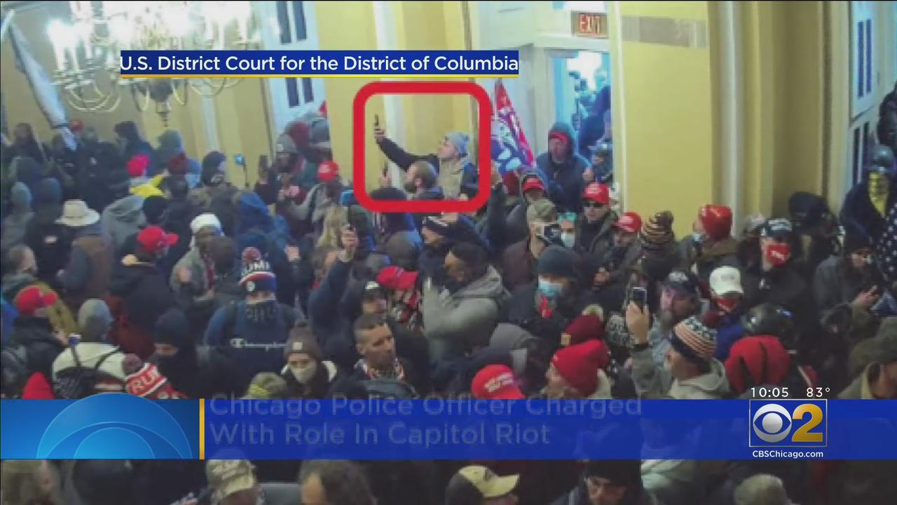 Chicago Police Officer Charged With Role In Capitol Riot