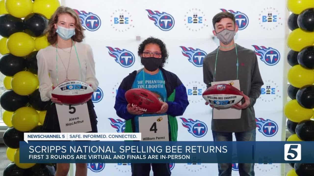 Scripps National Spelling Bee returns