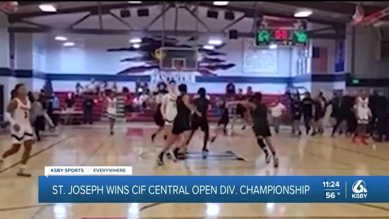 St. Joseph wins CIF Central Open Division Championship