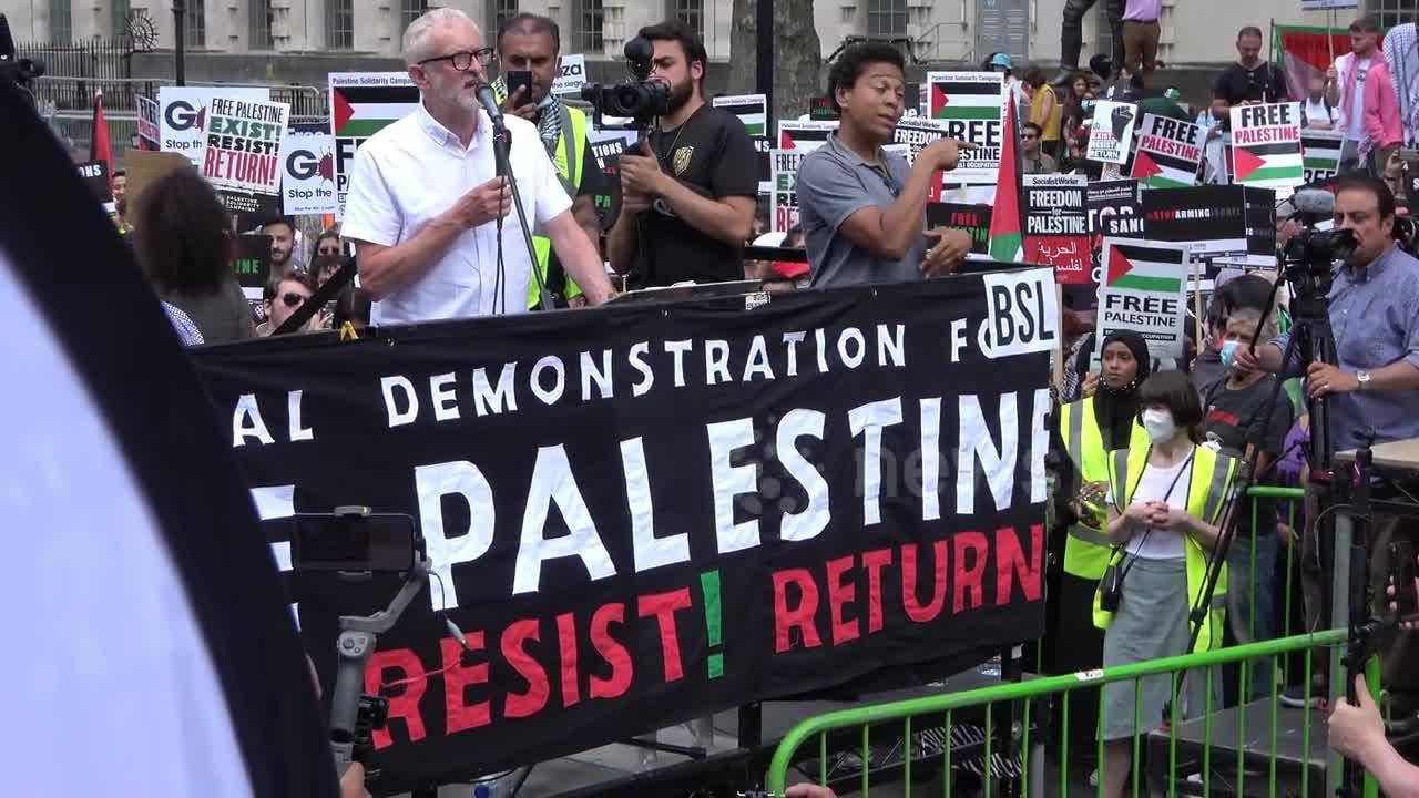 Jeremy Corbyn calls on Biden adminstration to recognise the State of Palestine