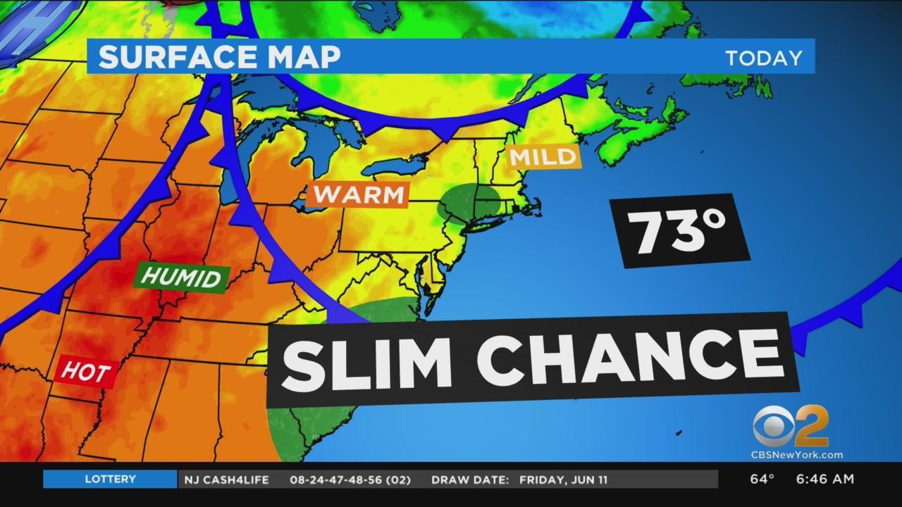 New York Weather: CBS2's 6/12 Saturday Morning Update