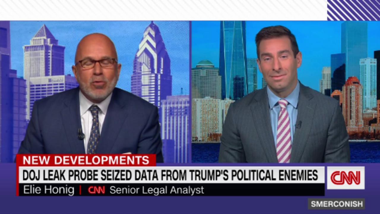 DOJ leak probe seized data from Trump's political enemies
