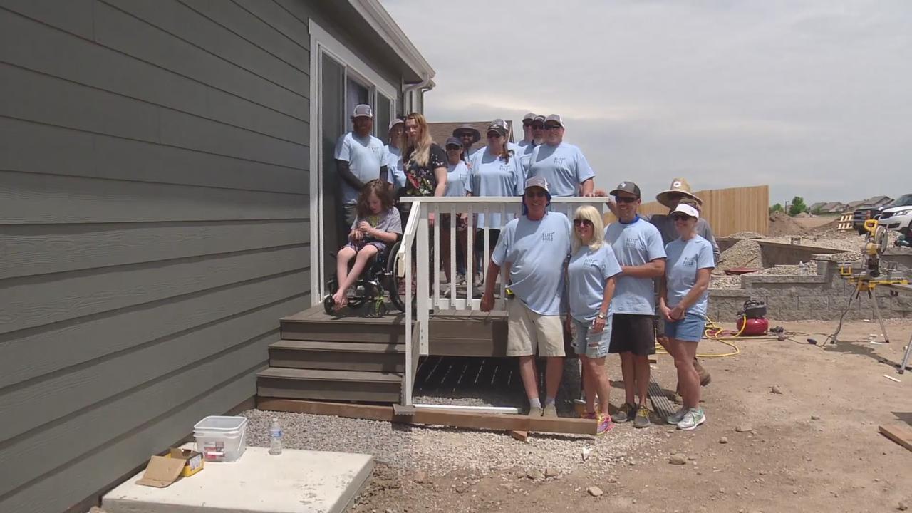 Volunteers Build Wheelchair-Accessible Deck In Castle Rock So Boy Can Enjoy His Backyard