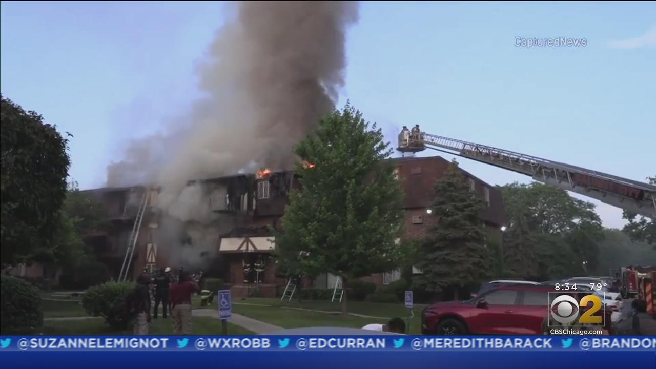 Fire Breaks Out At Calumet City Apartment Building