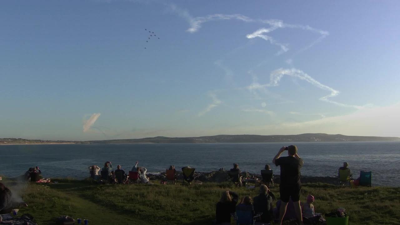 Cornish residents enjoy Red Arrow display