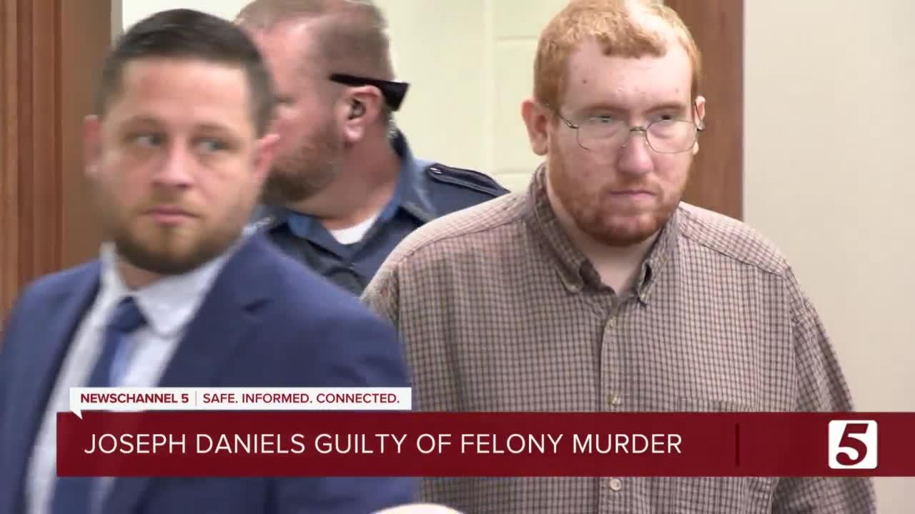 Jury finds Joseph Daniels guilty on five counts