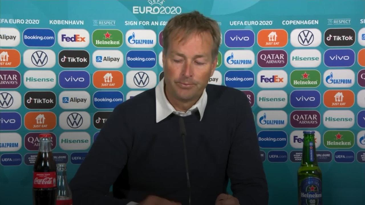 Denmark head coach: All our thoughts and prayers with Christian