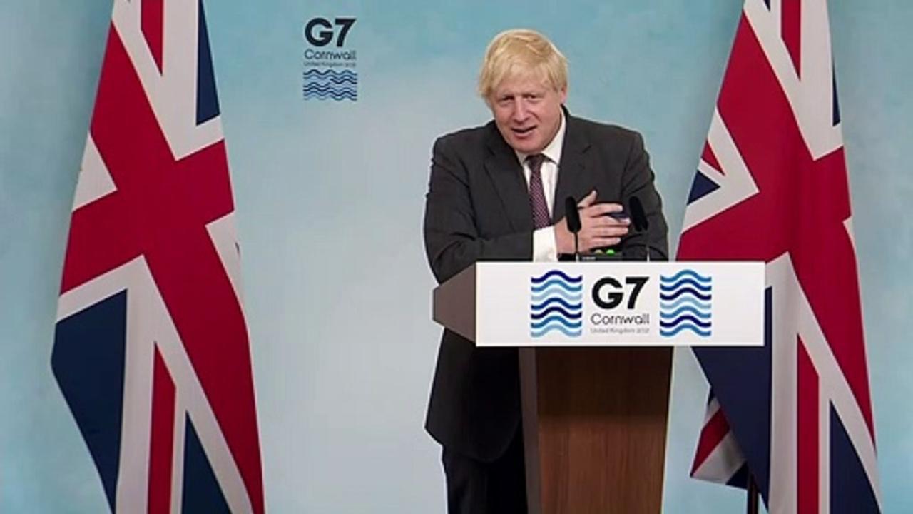 Boris Johnson say UK is 'indivisible'