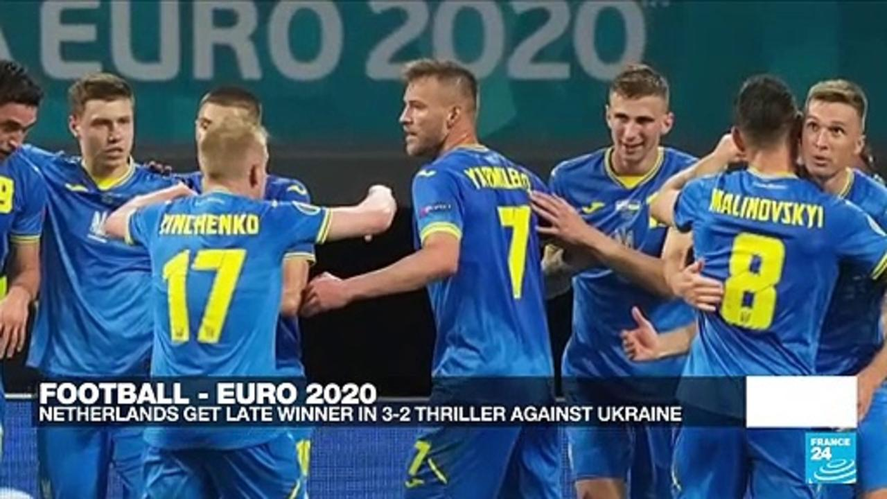 Euro 2021: Netherlands get late winner in 3-2 thriller against Ukraine