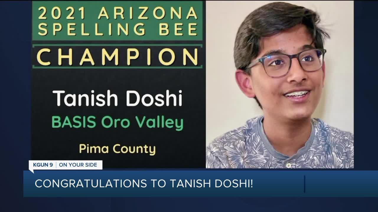BASIS Oro Valley eighth-grader advances in Scripps National Spelling Bee